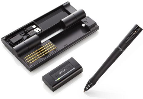Нова химикалка от Wacom създава векторни копия, докато рисувате на обикновена хартия