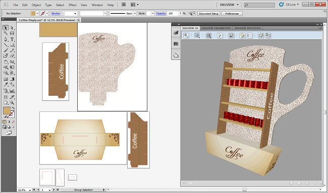 интеграция на EngView Package Designer Suite с Adobe Illustrator