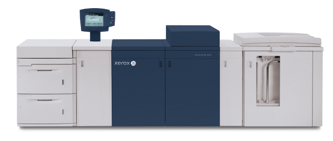 Новият модел DocuColor® 8080 на Xerox печата с матово мастило