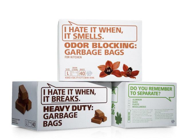 Интересни опаковки на стоки за бита.
