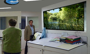 Френска болница подобри интериора си с латексови мастила на HP