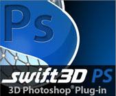 Swift 3D вече работи с Photoshop CS4 Extended