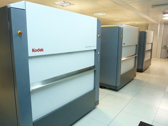 CTP-та на Кодак увеличават производителността при печата на вестници