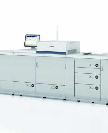 Canon и Ocе инсталираха първата си съвместно разработена производствена цифрова преса