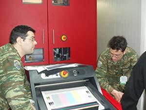 Подвижна печатна система на Xeikon получи бойното си кръщение в сили на НАТО.