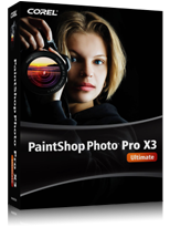 Corel издаде PaintShop Photo Pro X3 Ultimate