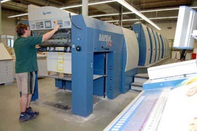 Производител на карти за игра избра печатна машина KBA Rapida 106