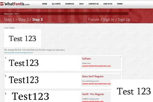 Нов безплатен онлайн инструмент за идентификация на шрифтове