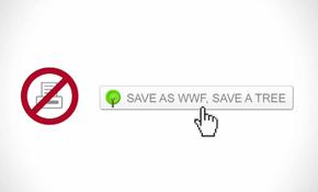 """WWF направи PDF, който не може да бъде отпечатан, за да """"спаси дървета"""""""