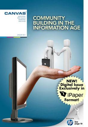 Първото списание с отпечатана електронна корица
