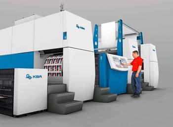 KBA ще предложат мастиленоструйна печатна машина, предназначена за печат на книги, списания и рекламни материали
