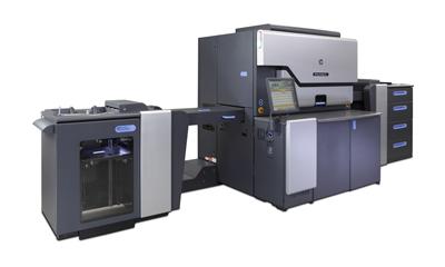 HP хвърли ръкавица на производителите на офсетови преси с Indigo 10000, която печата 3 450 листа в час