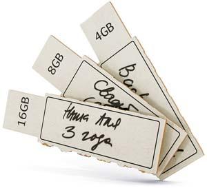 хартиените USB памети