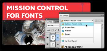 Suitcase Fusion 4 предлага нови улеснения на потребителите на Adobe Creative Suit
