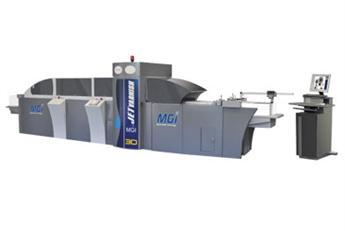 MGI ще представи JETvarnish 3D – цифрова машина за частично UV лакиране с 3D релеф