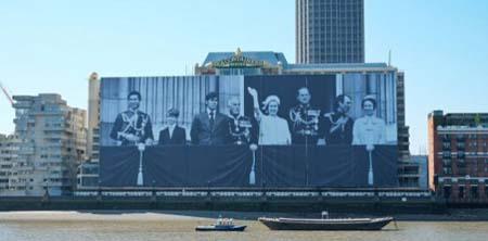 """Британска компания отпечата """"най-големият за всички времена"""" PVC банер"""