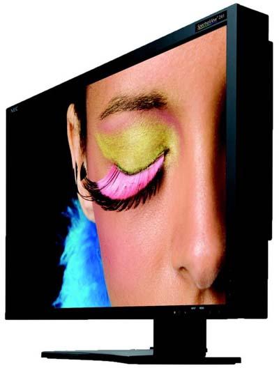 NEC представиха най-новия LCD монитор SpectraView за предпечат