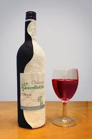 Хартиена бутилка за вино от GreenBottle
