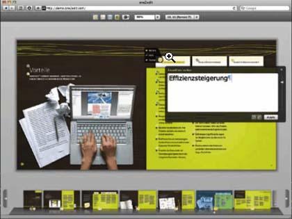 Уеб приложението one2edit позволява редактиране на InDesign документи през интернет