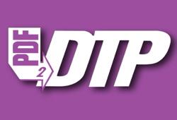 Превръщане на PDF файлове във формата на QuarkXPress 9 с PDF2DTP