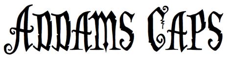 Addams Caps