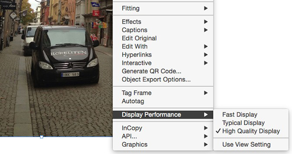 options indesign