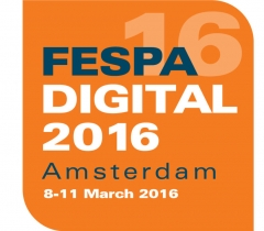 Тепеде на FESPA DIGITAL 2016