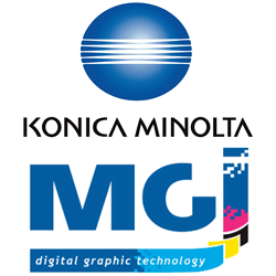 Konica Minolta и MGI Digital Technology