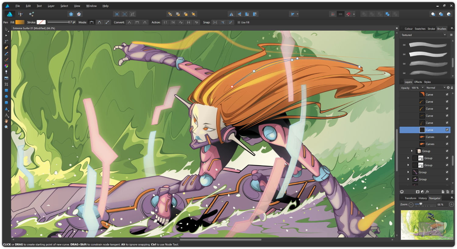 Affinity Designer с версия за Windows