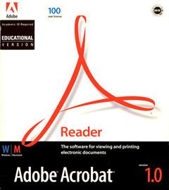 Историята на създаването на Adobe Acrobat
