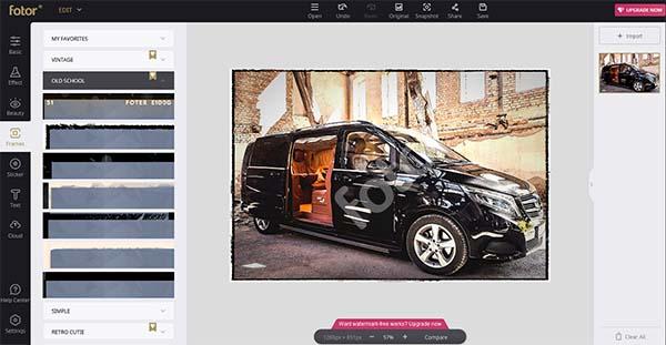 Fotor – онлайн решение за редактиране на изображения, дизайн и колажи