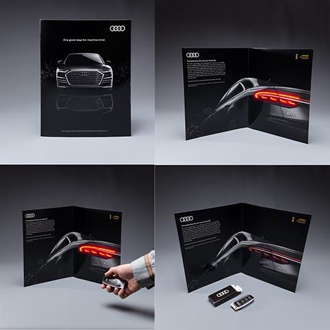 печатна реклама на Audi