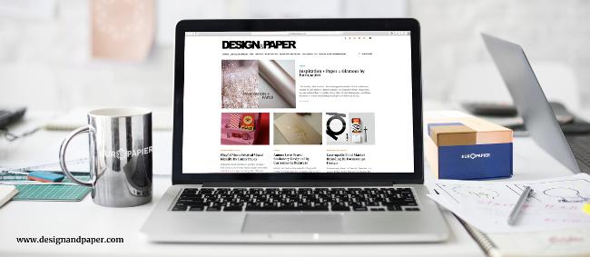 Блогът Design & Paper на Европапир