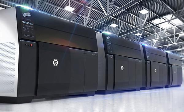 3D принтери на HP печатат със стомана