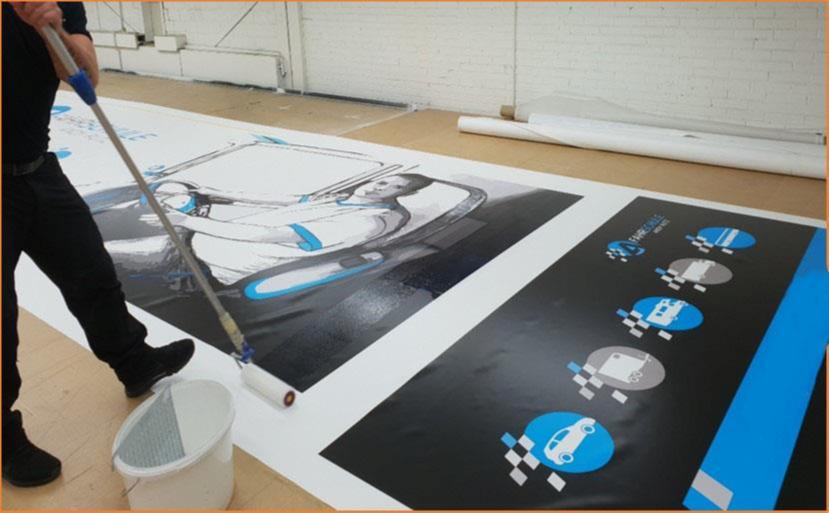 Лакът Printcolor 482-6700