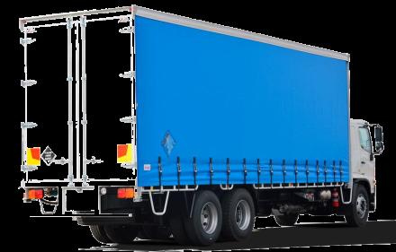 брандиране на брезенти за камиони