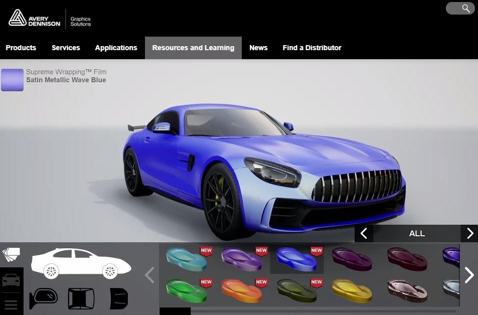 Car Wrap Visualizer