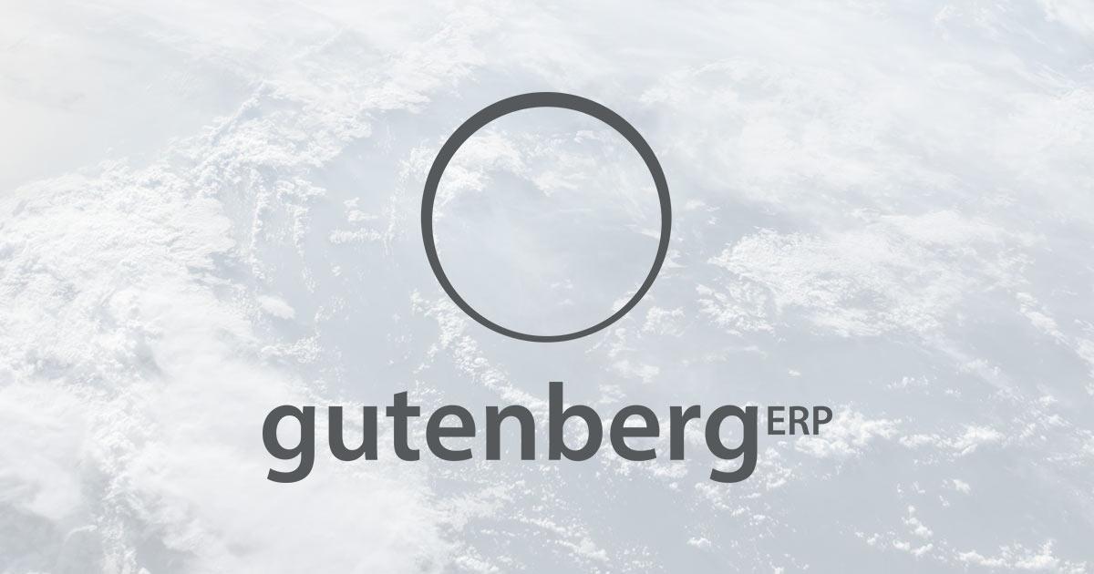 Gutenberg ERP