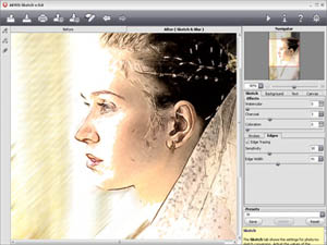 Създайте по-добри рисунки от снимки с AKVIS Sketch 10