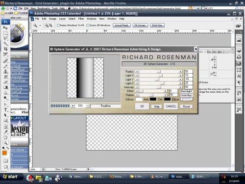 Създаване на обемни форми в Adobe Photoshop за секунди.
