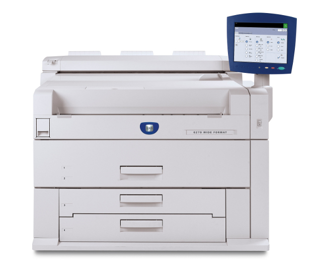 Черно-бял широкоформатен принтер Xerox 6279™