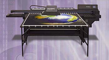 Инсталация на UV curable принтер за плоскости