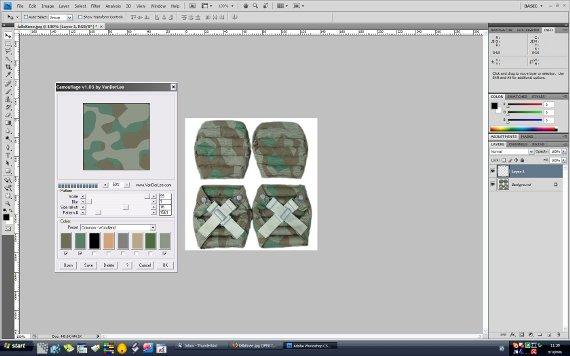 Камуфлажна маскировка с Camouflage