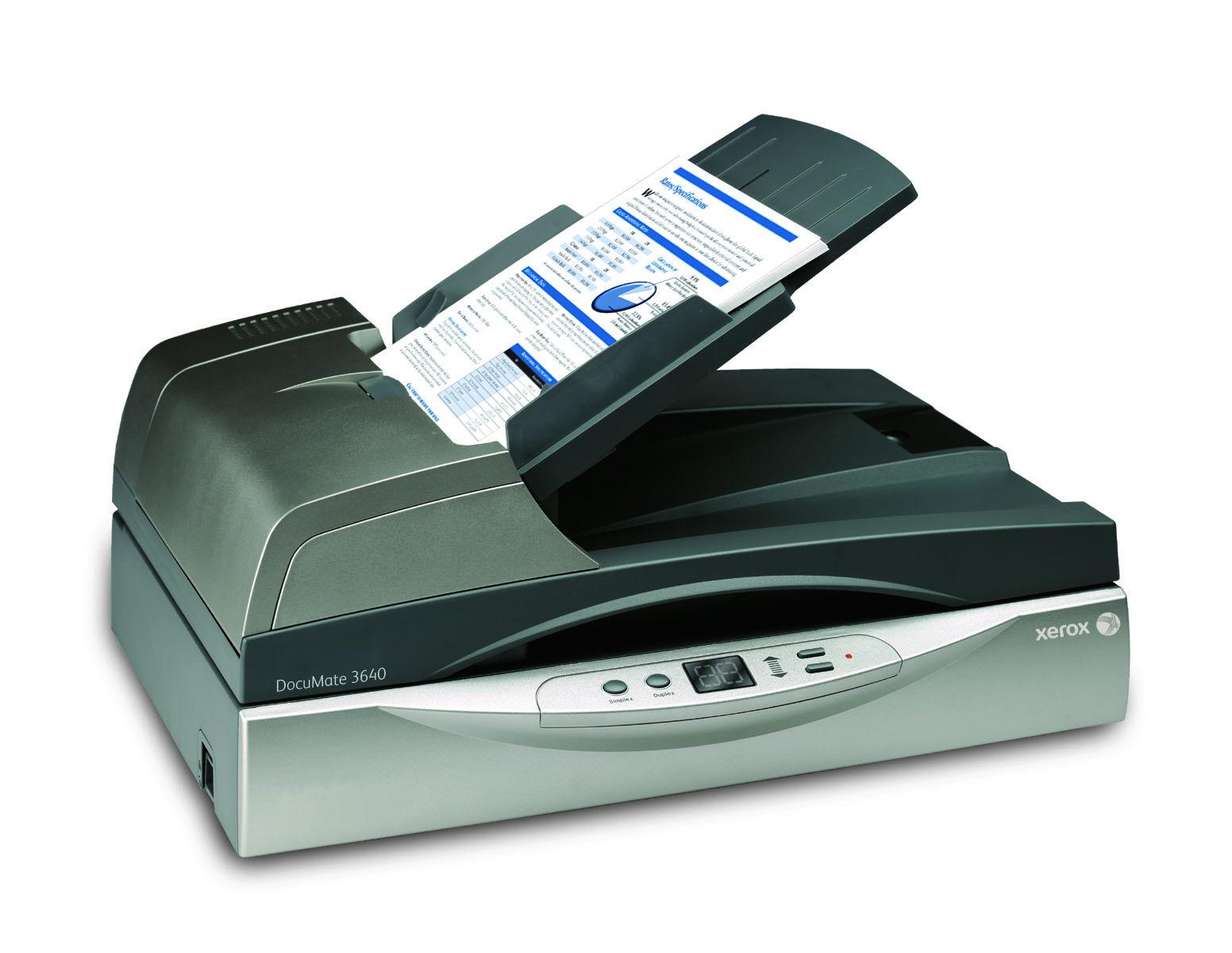 Два модела скенери на Xerox печелят награда.