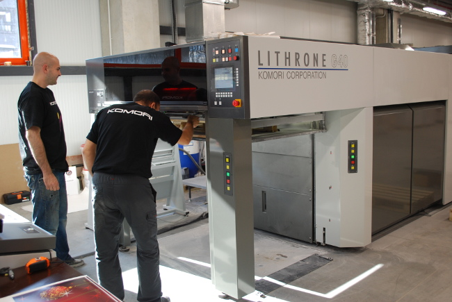 печатари на Komori LITHRONE G40