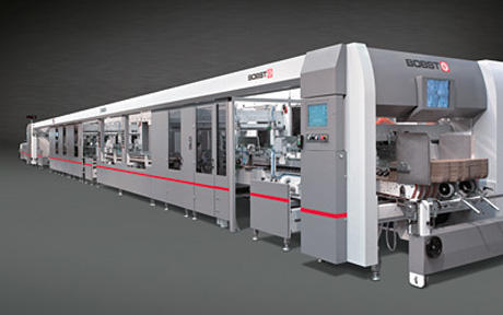 Bobst внедриха системата си Gyrobox в машини за производство на опаковки от велпапе