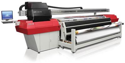 Нов 3.3 метров производствен солвентен принтер от Agfa Graphics :Jeti 3348 HSS