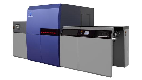 Демонстрация на дигиталната печатна машина KM-1/IS29