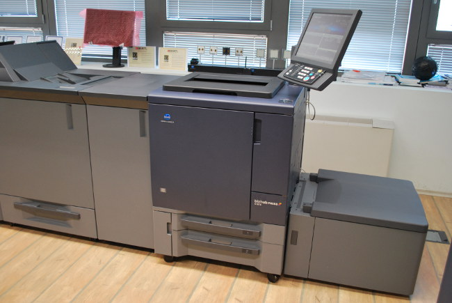 Тест на Konica Minolta Bizhub Press C1070