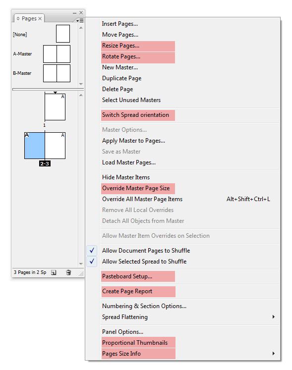 Нова версия на плъгина за Indesign - Page Control 2.0